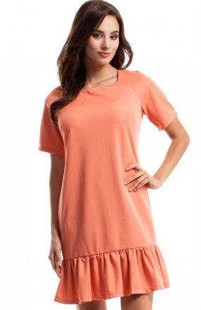 Moe MOE282 sukienka koralowa
