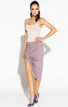 Asymetryczna spódnica różowa Luna