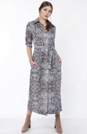 Sukienka maxi wąż SUK159
