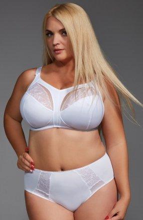 *Krisline Afrodyta biustonosz miękki biały