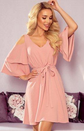 Letnia pudrowa sukienka Marina Numoco 292-5