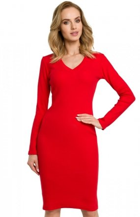 Moe M393 sukienka czerwona