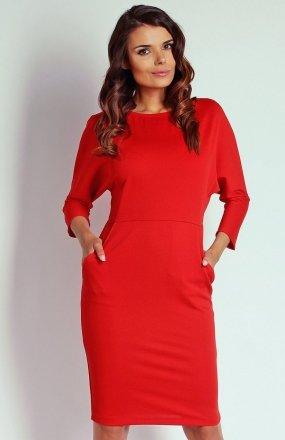 Nommo NA110 sukienka czerwona