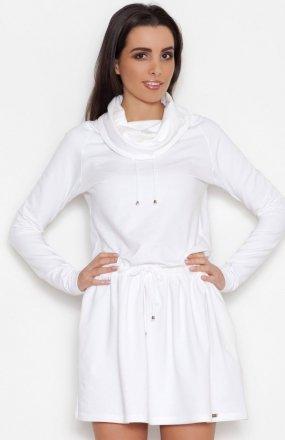 *Katrus K260 sukienka ecru
