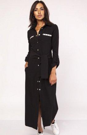Lanti SUK157 sukienka czarna