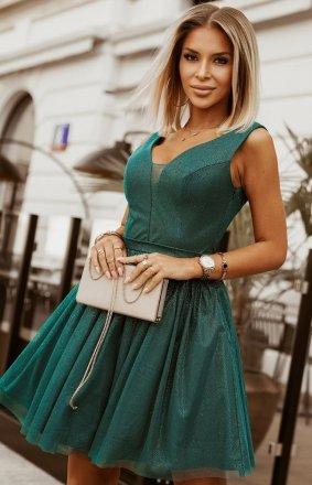 Elegancka błyszcząca sukienka 2228-13