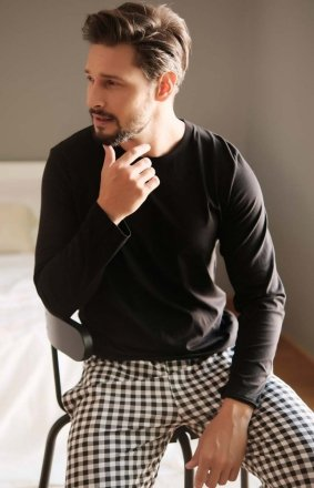 Doctor Nap 4330 piżama męska kratka