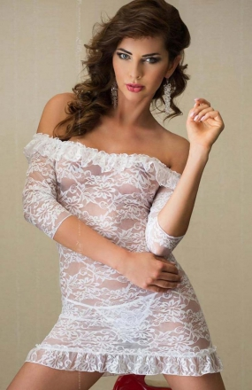 Softline Agathe komplet biały