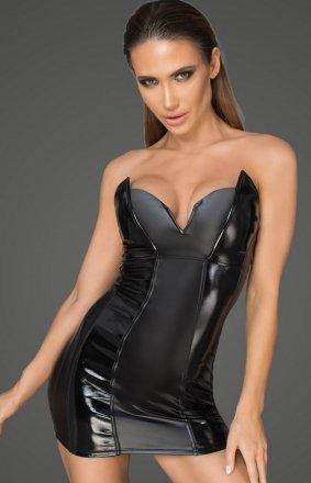 Mini sukienka powerwetlook F195