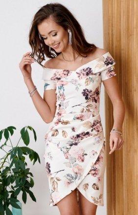 Elegancka ołówkowa sukienka 0248/B10