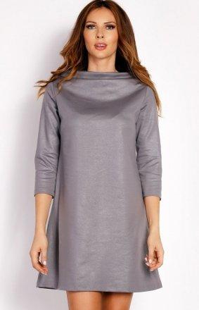 LOU LOU L006 sukienka szara