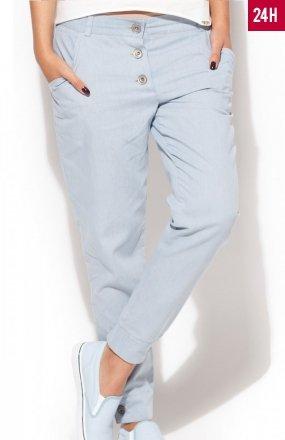 *Katrus K163 spodnie błękitne