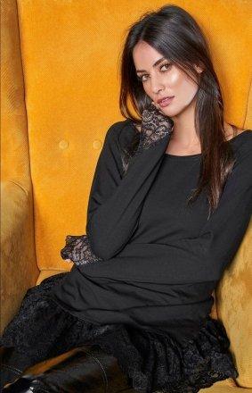 *Numinou NU65 bluzka czarna