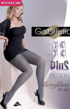 Gabriella Microfibre 60 DEN Plus Size code 162 rajstopy klasyczne