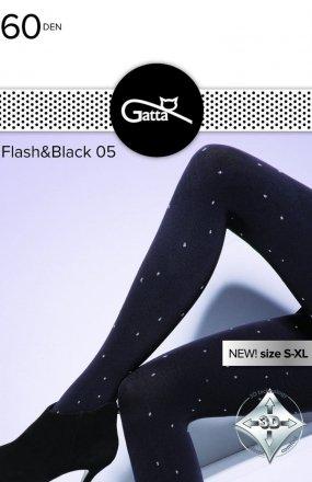 Gatta Flash & Black wz.05 rajstopy