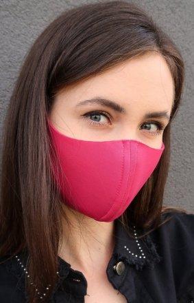 Różowa maseczka ochronna
