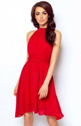 *Ivon Livia sukienka czerwona