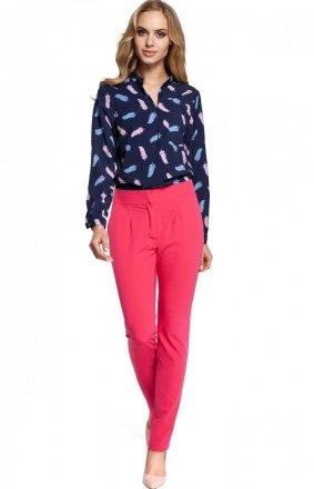 Moe M303 spodnie różowe