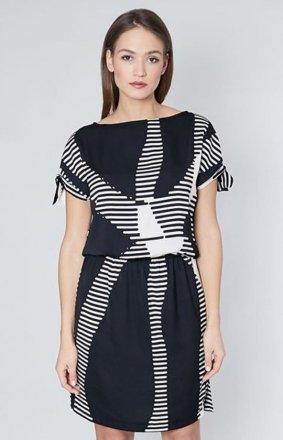 Click Fashion Emporia sukienka czarna