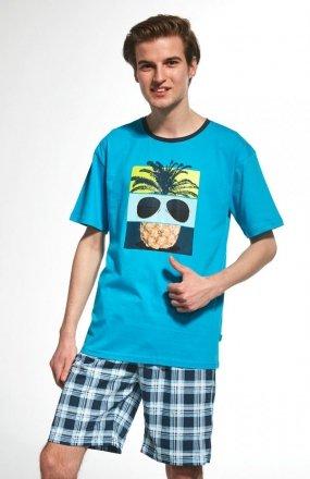 Piżama Cornette F&Y Boy 551/27 Pineapple kr/r 164-182