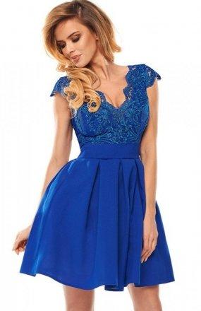 Bicotone 2139-05 sukienka chabrowa