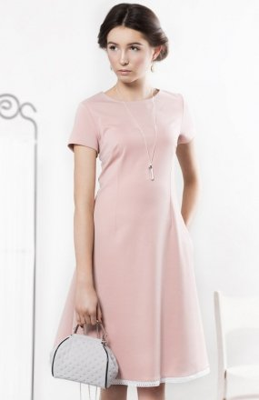 Kasia Miciak design prosta sukienka