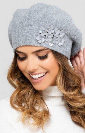 Wełniany beret damski Kamea Barcelona