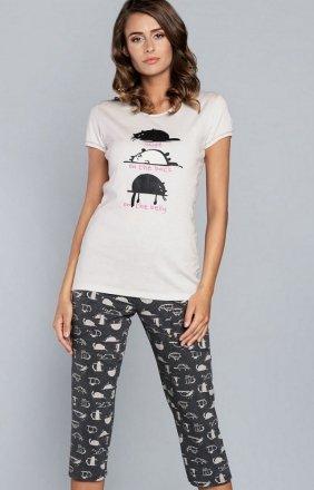 Italian Fashion Dima dwuczęściowa piżama damska