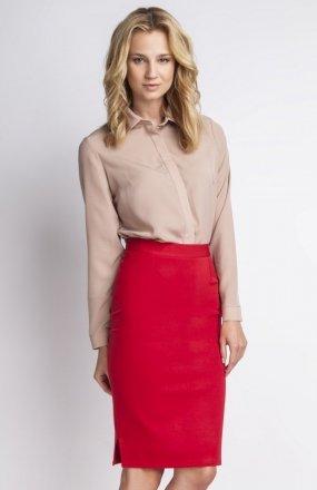 Klasyczna spódnica czerwona SP112