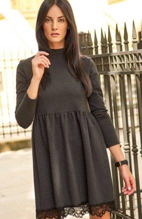 Numinou NU123 sukienka grafitowa
