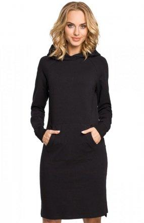 Moe M329 sukienka czarna
