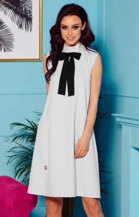 Sukienka z kokardą janoszara L296
