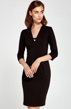 *Nife S92 sukienka czarna
