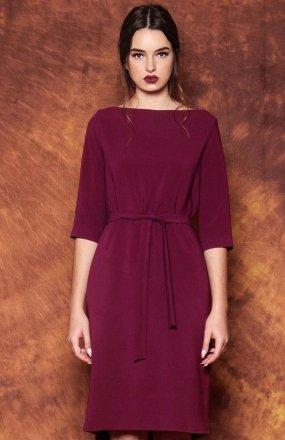 Kasia Miciak design Opus X sukienka fioletowa