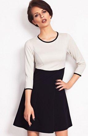Vera Fashion Ruth sukienka beż