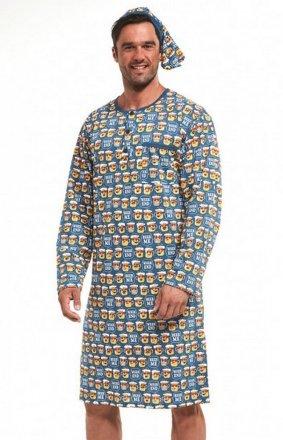 Cornette 110/643301 dł/r 3XL-5XL koszula nocna męska