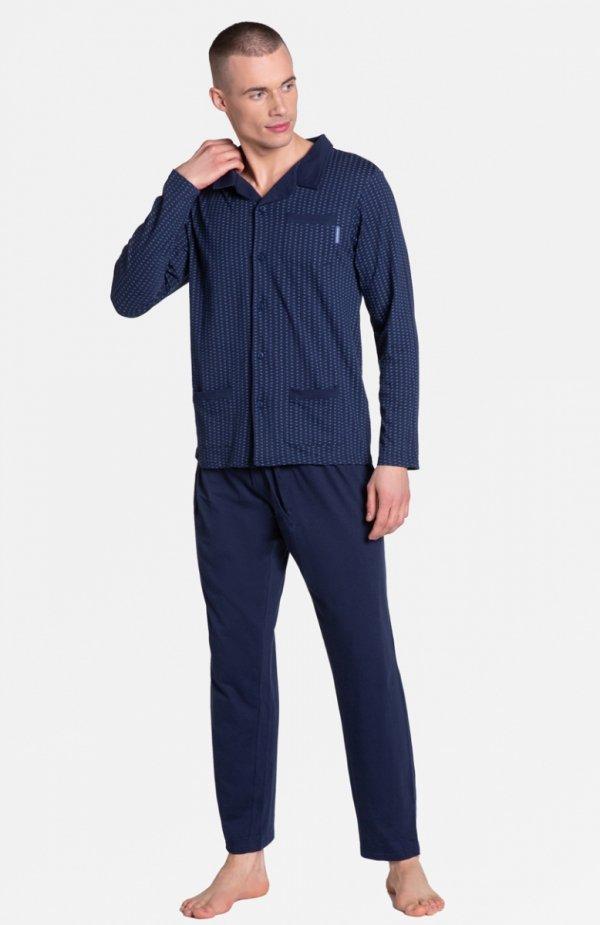 Henderson Zander 38363-59X piżama granatowa