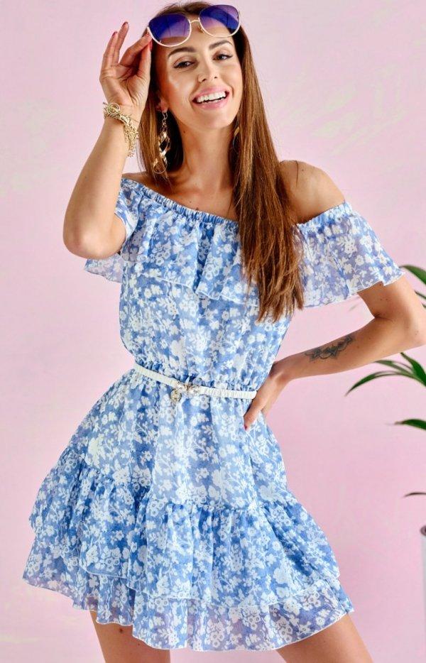 Letnia sukienka hiszpanka 0335/U31