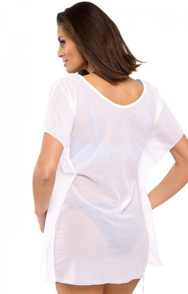 Sukienka plażowa biała Kaya tył