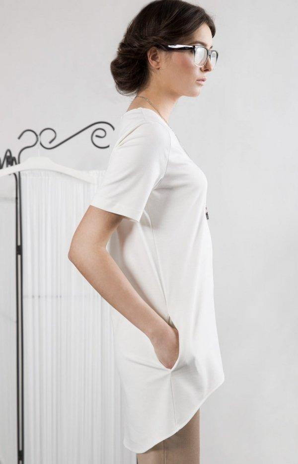 Kasia Miciak design tunika ecru