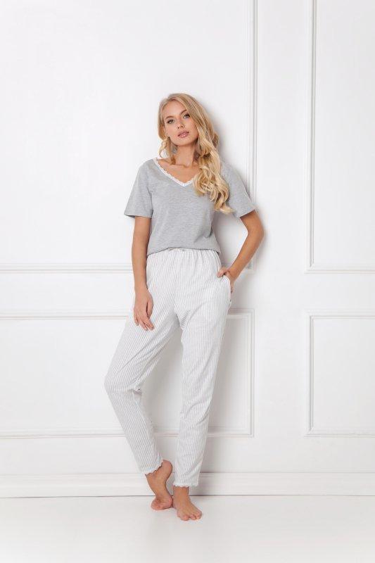 Aruelle Gwen Long Grey piżama