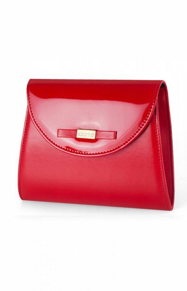 Czerwona kopertówka damska D5-1