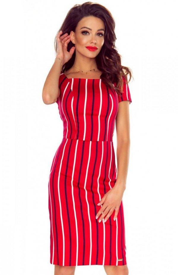 Bergamo Paula sukienka czerwona
