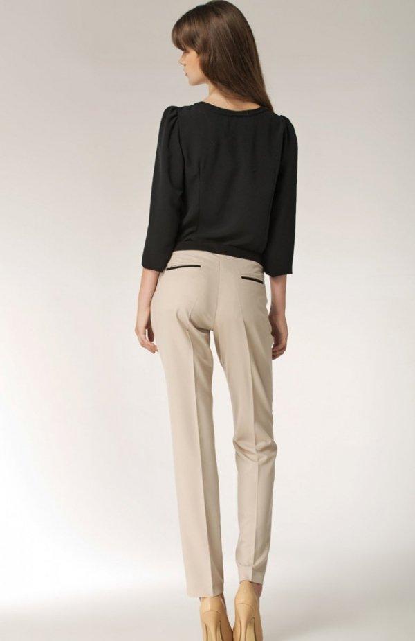 Nife SD07 spodnie beżowe