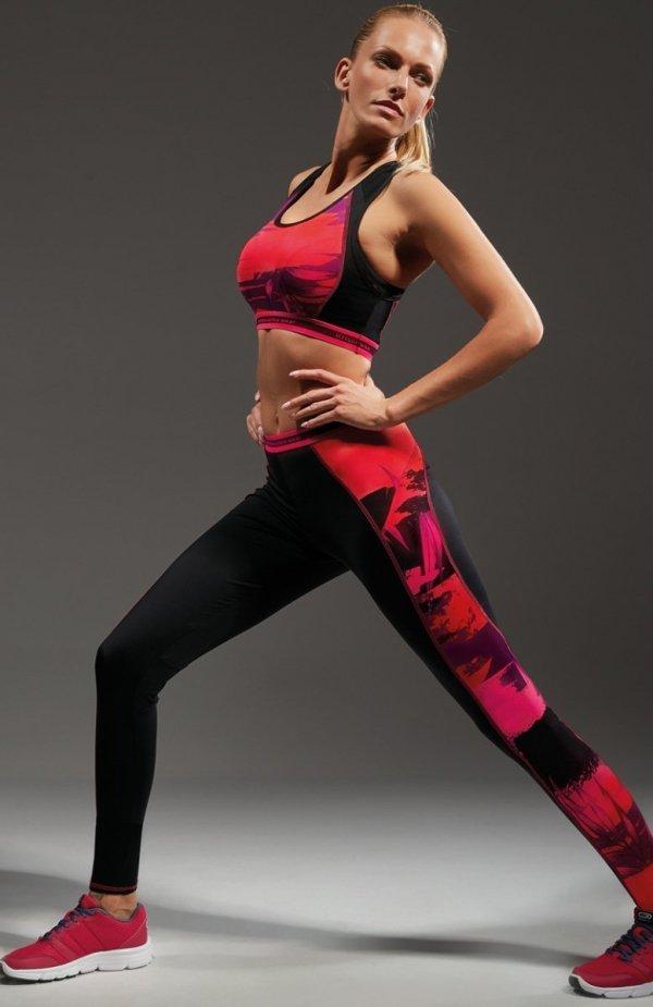Krisline Power of Pink legginsy
