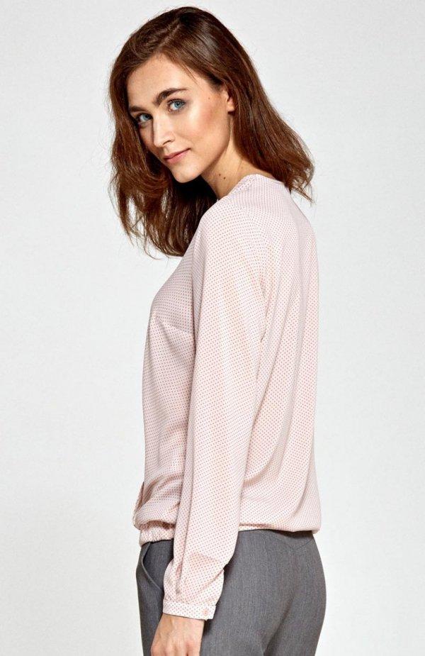Nife B83 bluzka różowa tył