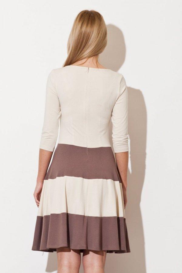 Figl M279 sukienka mocca