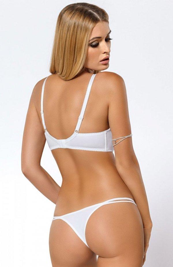Paripari Sari stringi białe