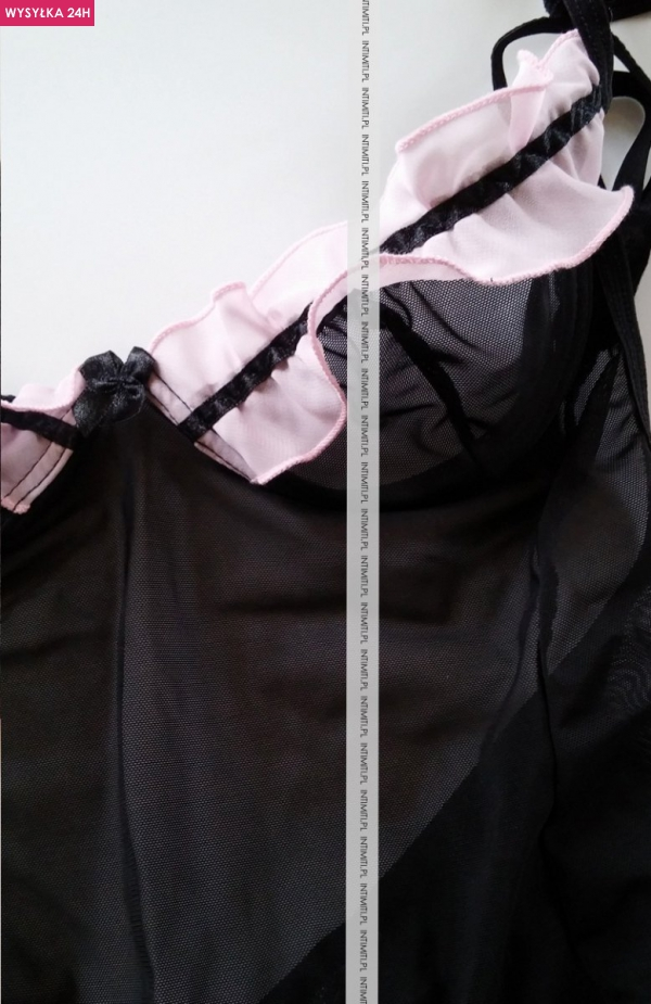 Anais Tigra Chemise nocna koszulka+stringi