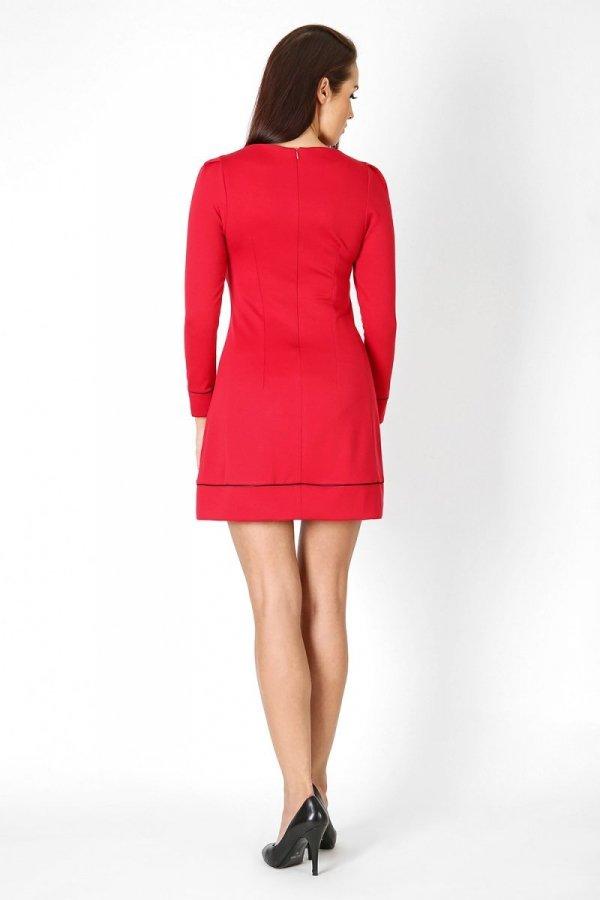 Vera Fashion Sylwia sukienka czerwona